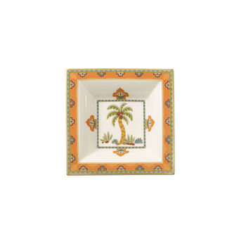 Samarkand Mandarin Schale  quadratisch 14x14cm