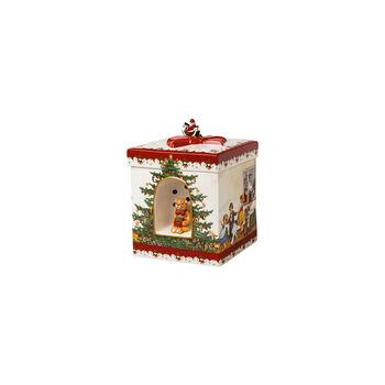 Christmas Toys Geschenkpaket groß eckig, 2021 17x17x21,5cm