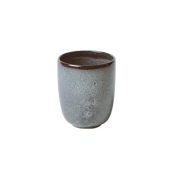 Lave Glacé Becher ohne Henkel, türkis, 9 x 9 x 10,5 cm, 400 ml