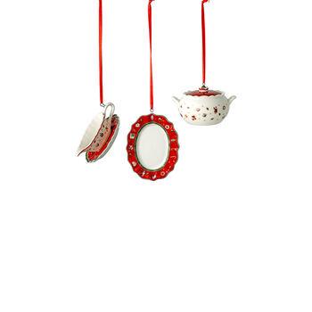 Toy's Delight Decoration Ornamente-Set Servierteile, 3 x 6 cm, 3-teilig