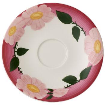 Rose Sauvage framboise Frühstücks-Untertasse