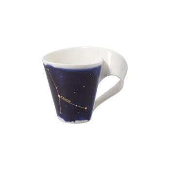 NewWave Stars Becher Krebs, 300 ml, Blau/Weiß