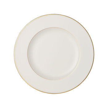 Anmut Gold Speiseteller, Durchmesser 27 cm, Weiß/Gold