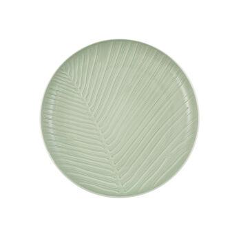 it's my match Teller Leaf, 24 cm, Mineralgrün