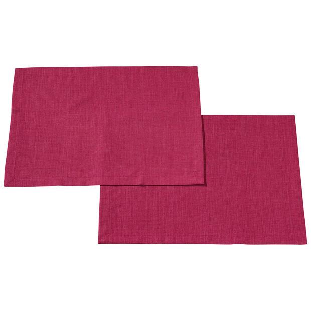 Textil Uni TREND Platzset Red Plum S2 35x50cm, , large