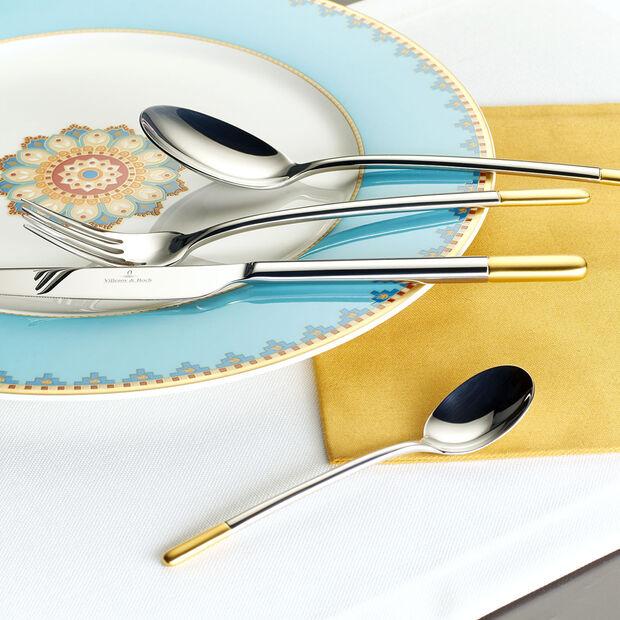 Ella teilvergoldet Tafelbesteck 30tlg. 42x27x5cm, , large