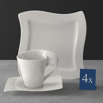 NewWave Kaffeeservice 12-teilig