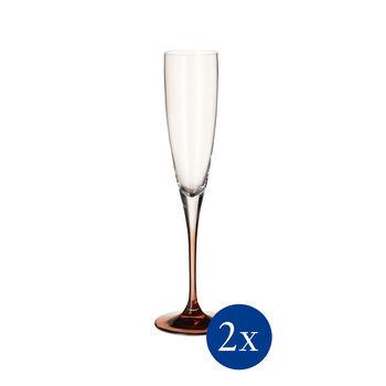 Manufacture Glass Champagner-Kelch 2er-Set