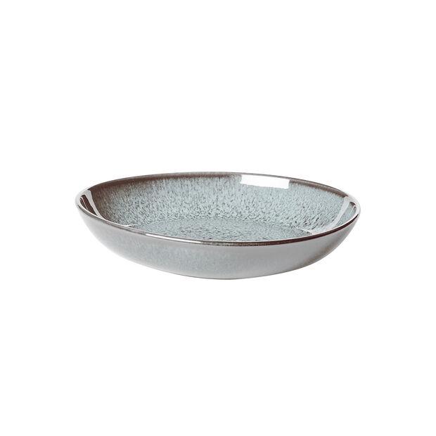 Lave Glacé kleine flache Schale, türkis, 22 x 21 x 4,2 cm, , large