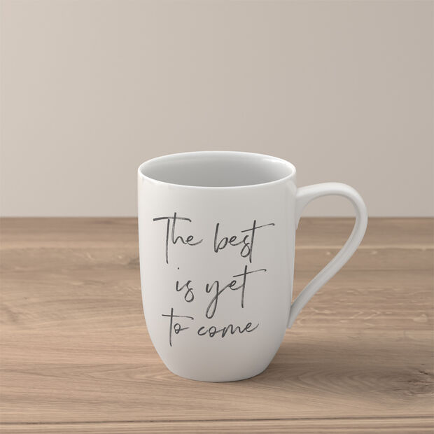 """Statement Becher """"The best is yet to come"""", , large"""
