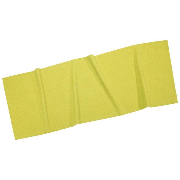 Textil Uni TREND Tischläufer limone 50x140cm, , large