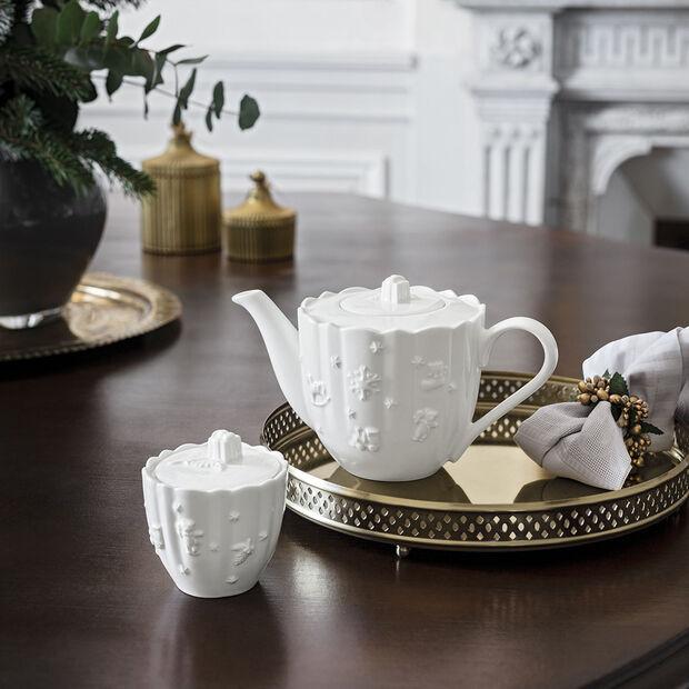 Toy's Delight Royal Classic Kaffeekanne, weiß, 1 l, , large