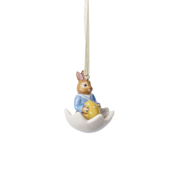 Bunny Tales Ornament Max in Ei-Schale, , large