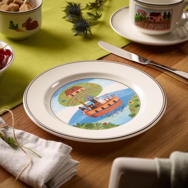 Design Naif Frühstücksteller Arche Noah, , large