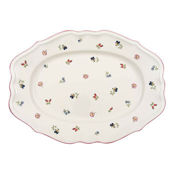 Petite Fleur ovale Platte 37 cm