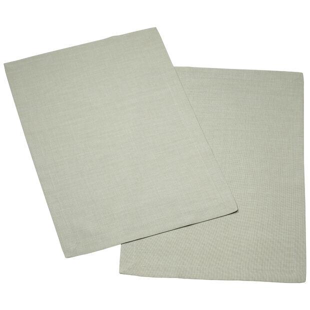 Textil Uni TREND Platzset fog green Set 2 35x50cm, , large