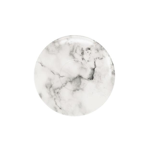 Marmory Kaffeeuntertasse White, 16x16x2cm, , large