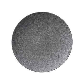 Manufacture Rock Granit Speiseteller, Coupe, 27 cm, Grau
