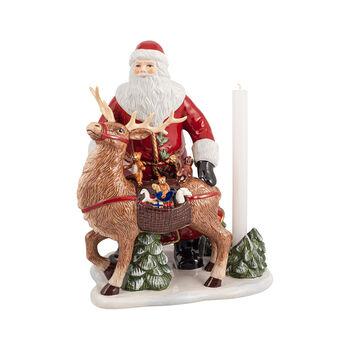 Christmas Toys Memory Santa mit Hirsch, 30 x 24 x 35 cm
