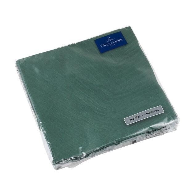 like. by Villeroy & Boch Papier Servietten it's my match green leaf Lunch, 33 x 33 cm, 20 Stück, , large
