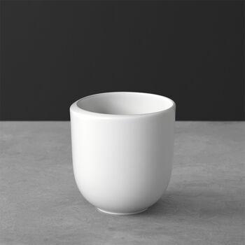 NewMoon Kaffeebecher, ohne Henkel, 390 ml, Weiß