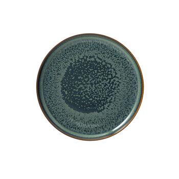 Crafted Breeze Frühstücksteller, graublau, 21 cm