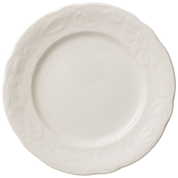 Rose Sauvage blanche Frühstücksteller, , large