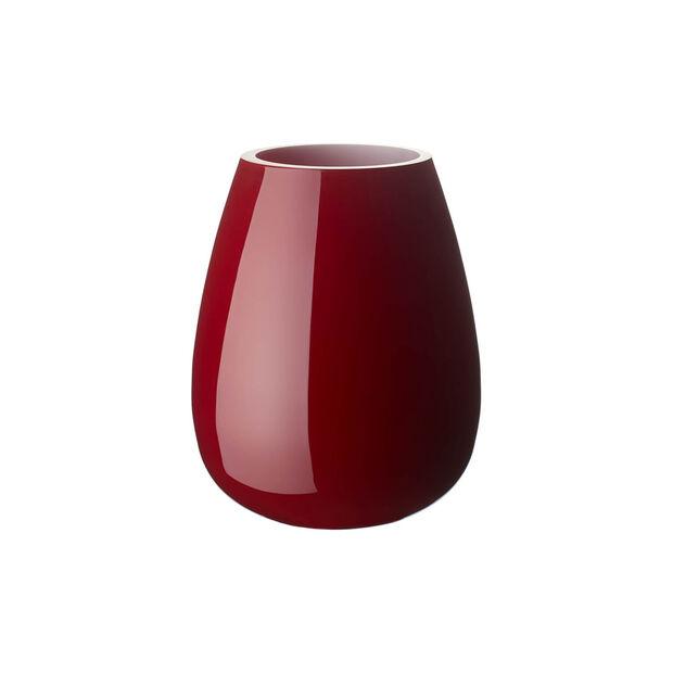 Drop kleine Vase Deep Cherry, , large