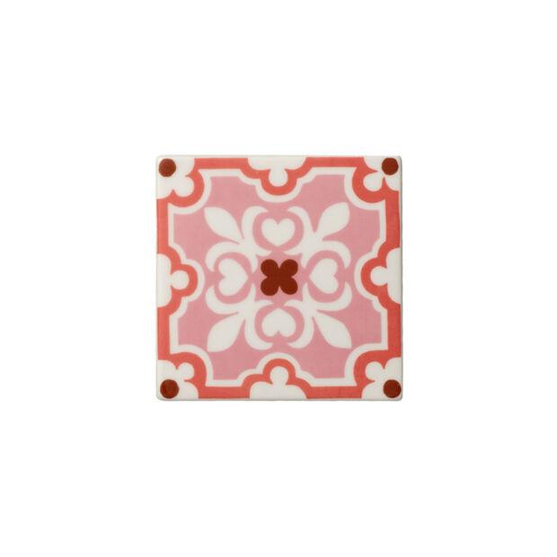 Table Accessories Untersetzer Set 2tlg. Rose Caro 11x11cm, , large