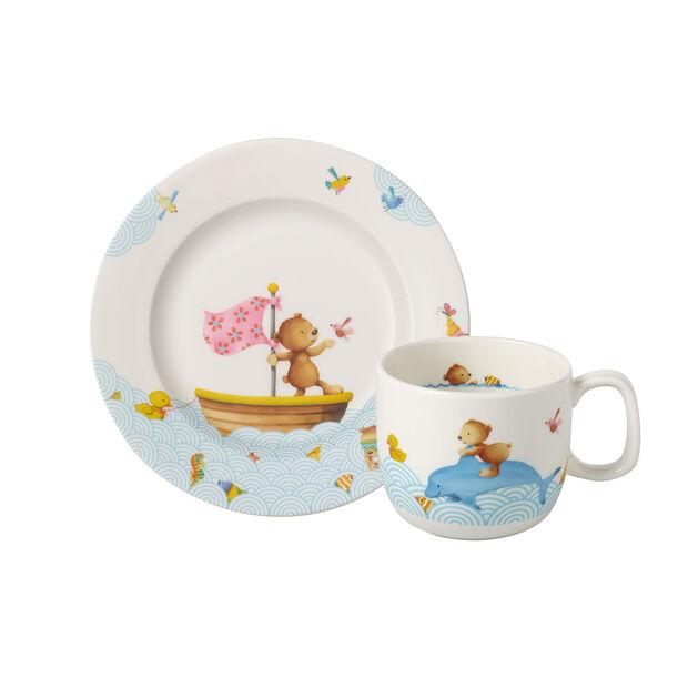 Happy as a Bear Kinder Frühstücks-Set, 2tlg., , large