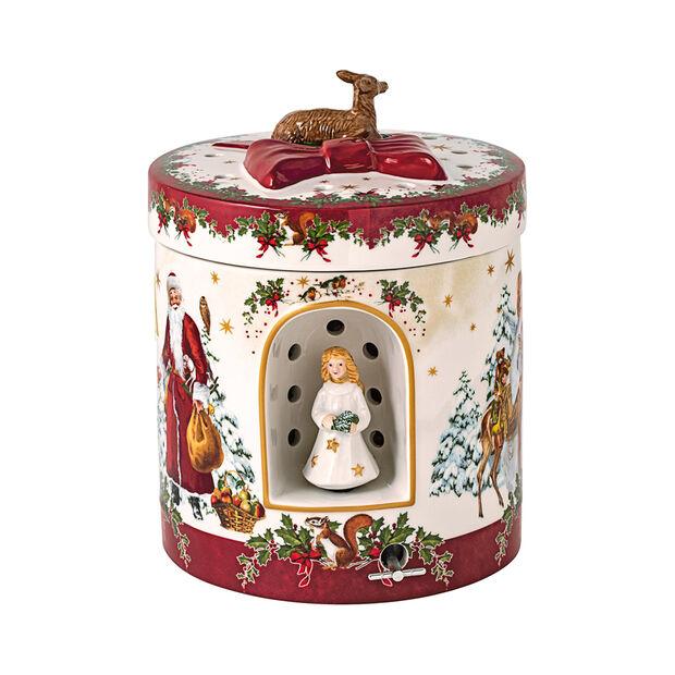 Christmas Toys großes rundes Geschenkpaket Christkind, 17 x 17 x 21,5 cm, , large