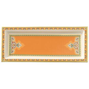 Samarkand Mandarin Schale rechteckig 25x10cm