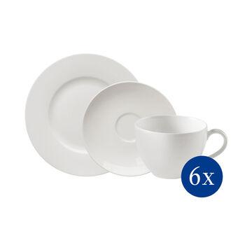 vivo | Villeroy & Boch Group Basic White Kaffee-Set 18-teilig