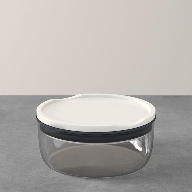 ToGo&ToStay Lunchbox, 13x6cm, rund, grau, , large