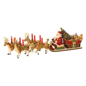 Christmas Toys Memory Santa's Schlittenfahrt 22x70x16cm