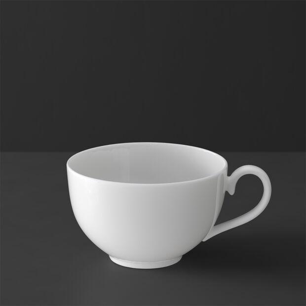 White Pearl Cappuccinoobertasse, , large