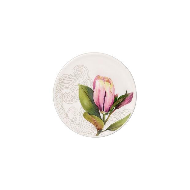 Quinsai Garden Untersetzer, Durchmesser 11 cm, Weiß/Bunt, , large