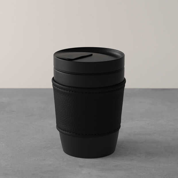 Manufacture Rock Coffee To Go Becher, 290 ml, mattschwarz, , large