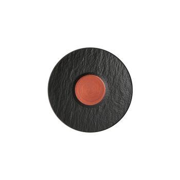 Manufacture Rock Glow Espresso-Untertasse, kupfer/schwarz, 12 x 12x 2 cm