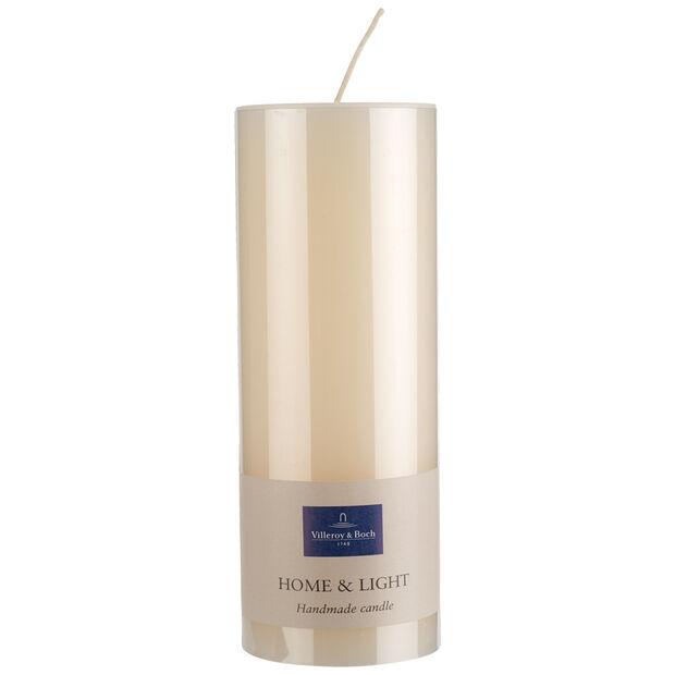 Essentials Kerzen Elfenbein Pillar 19cm, , large