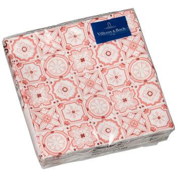 Papier Servietten Rose Caro, 25 x 25 cm, 20 Stück