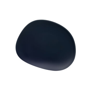 Organic Dark Blue Frühstücksteller, dunkelblau, 21 cm