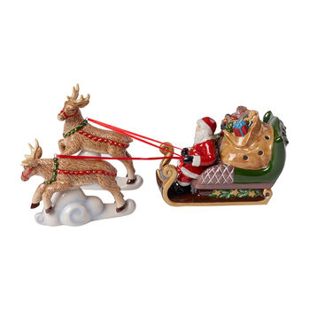 Christmas Toy's Schlitten North Pole Express, bunt, 36 x 14 x 17 cm