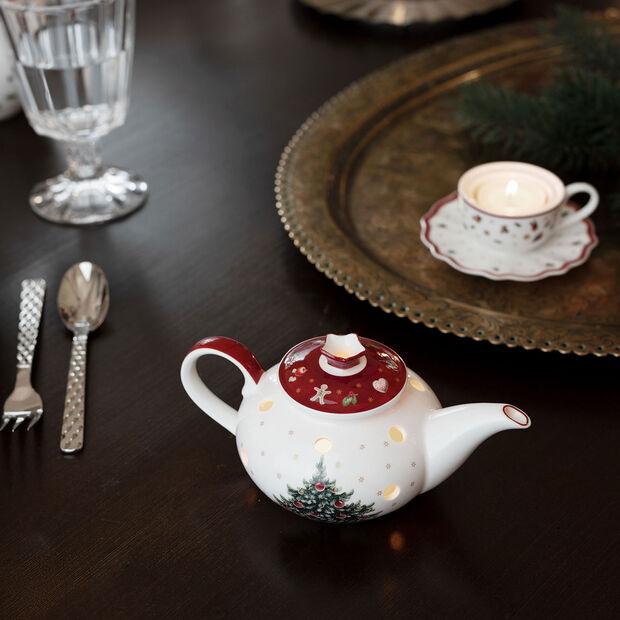 Toy's Delight Decoration Teelichthalter Kaffeekanne 16x9,5x9cm, , large