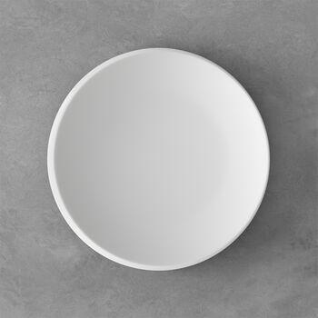 NewMoon Frühstücksteller, 24 cm, Weiß
