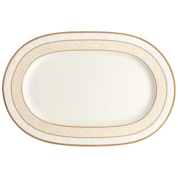 Ivoire Platte oval 35cm, , large