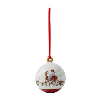 Annual Christmas Edition Kugel 2020, 6,5 x 6,5 x 8 cm