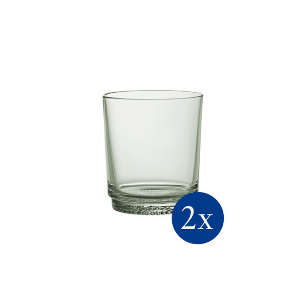 like. by Villeroy & Boch it's my match Wasserglas-Set mineral, grün, 9 x 10 cm, 2-teilig, , large