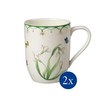 Colourful Spring Kaffeebecher, 340ml, 2 Stück