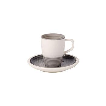 Manufacture gris Mokka-/Espressotasse 2tlg.